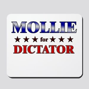 MOLLIE for dictator Mousepad