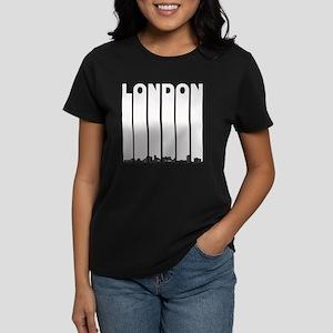 Retro London Ontario Canada Skyline T-Shirt