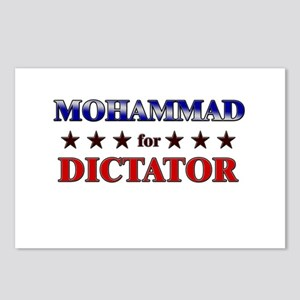 MOHAMMAD for dictator Postcards (Package of 8)
