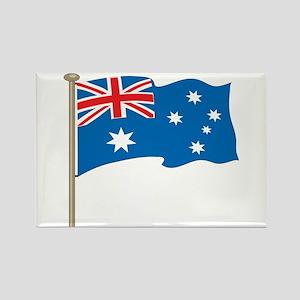 Aussie Flag Rectangle Magnet