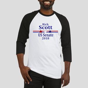 Rick Scott Senate 2018 Baseball Tee