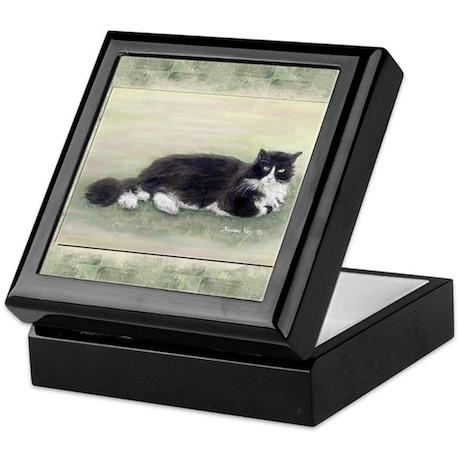 Julio the Cat Keepsake Box