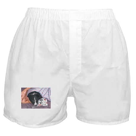 It's hard work writing to San Boxer Shorts
