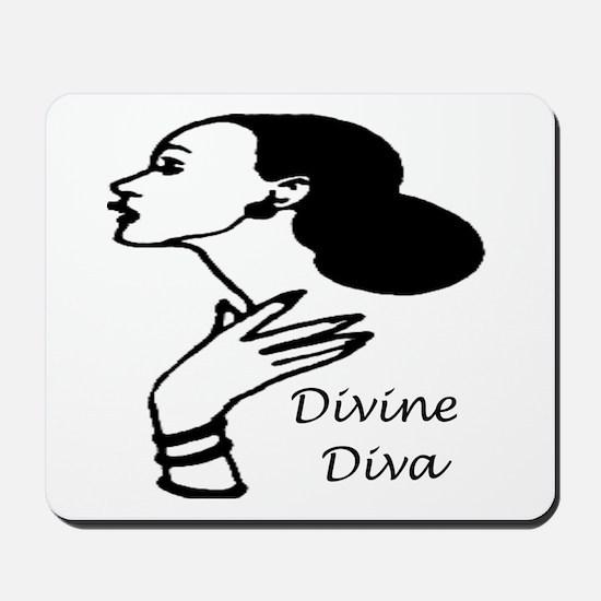Divine Diva Mousepad