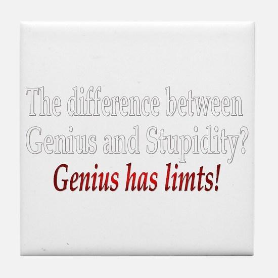 Genius Tile Coaster