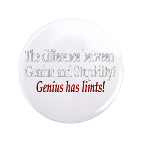 "Genius 3.5"" Button (100 pack)"