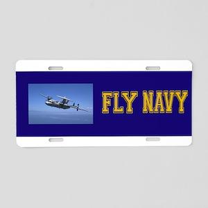 AWACS: E2C Aluminum License Plate