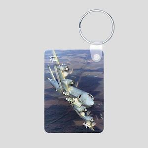 Patrol: P3 Orion Aluminum Photo Keychain