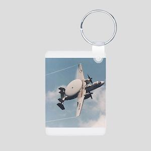 AWACS: E2C Aluminum Photo Keychain