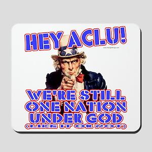 Under God Anti-ACLU Mousepad