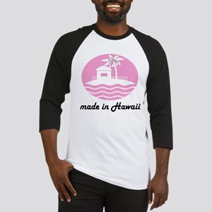 Made In HAWAII pink Baseball Jersey
