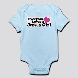 Everyone Loves a Jersey Girl Infant Bodysuit