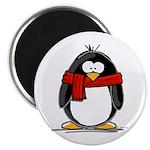 Red Scarf Penguin Magnet