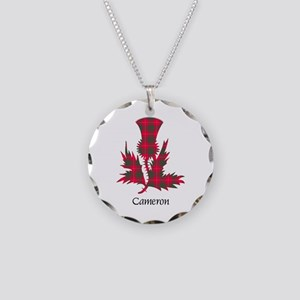 Thistle - Cameron Necklace Circle Charm