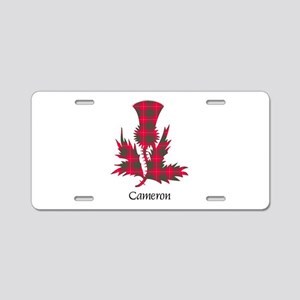 Thistle - Cameron Aluminum License Plate