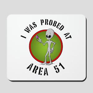 Alien Probe Mousepad