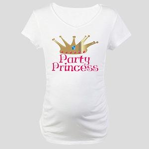 Party Princess Maternity T-Shirt
