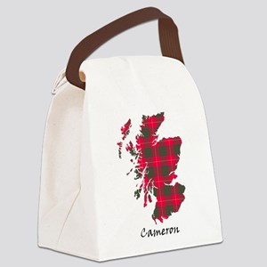 Map - Cameron Canvas Lunch Bag