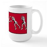 Zany Acrobat Large Mug