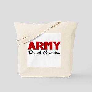 Army Grandpa (red) Tote Bag