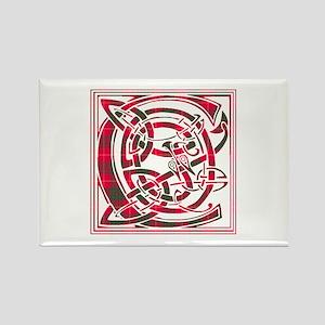 Monogram - Cameron Rectangle Magnet