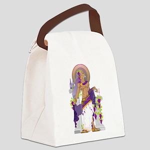 Dionysus Canvas Lunch Bag
