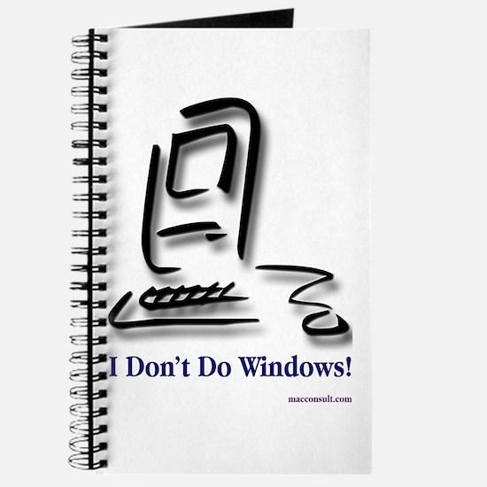 I Don't Do Windows! Journal