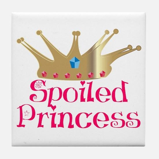 Spoiled Princess Tile Coaster