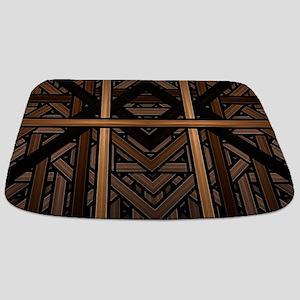 Woven Wood Bathmat