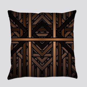 Woven Wood Everyday Pillow