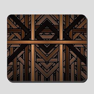 Woven Wood Mousepad