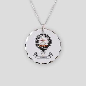 Badge - Cameron Necklace Circle Charm