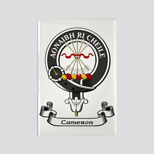 Badge - Cameron Rectangle Magnet