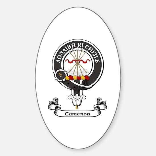 Badge - Cameron Sticker (Oval)