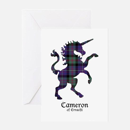 Unicorn - Cameron of Erracht Greeting Card