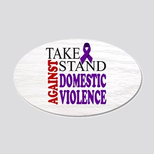 Domestic Violence - Take a Stand Wall Decal