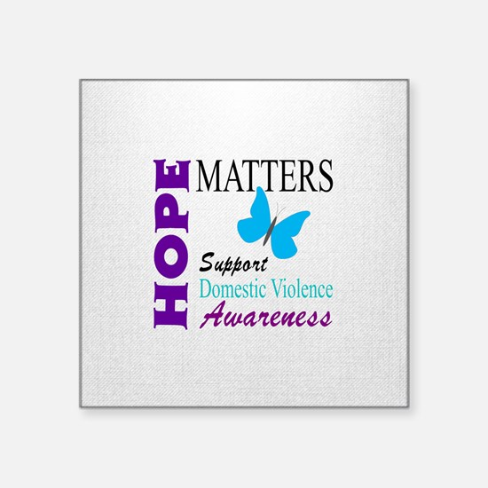 Hope Matters With Domestic Violence Sticker
