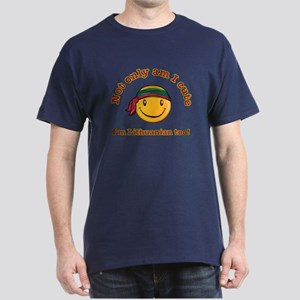 Not only am I cute I'm Lithuanian too Dark T-Shirt