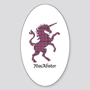 Unicorn - MacAlister Sticker (Oval)
