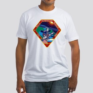 ISS Expedition 4 Fitted T-Shirt