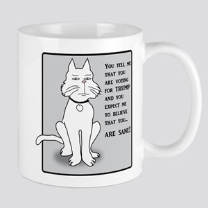 Anti-Trump Kitty Mugs