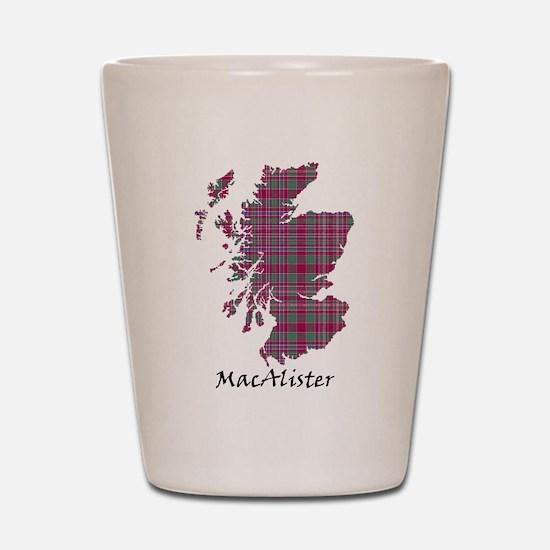 Map - MacAlister Shot Glass