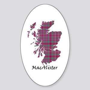 Map - MacAlister Sticker (Oval)