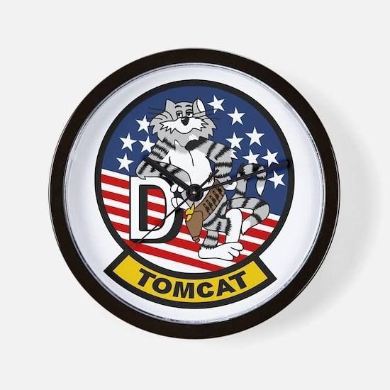 F-14D Super Tomcat Wall Clock