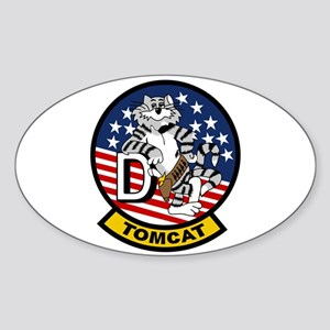 F-14D Super Tomcat Oval Sticker