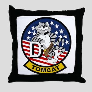 F-14D Super Tomcat Throw Pillow
