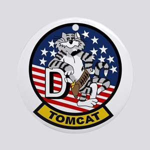 F-14D Super Tomcat Ornament (Round)