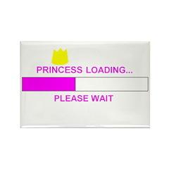 PRINCESS LOADING... Rectangle Magnet (10 pack)