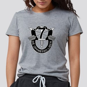 7th Special Forces - DUI - No Tx T-Shirt