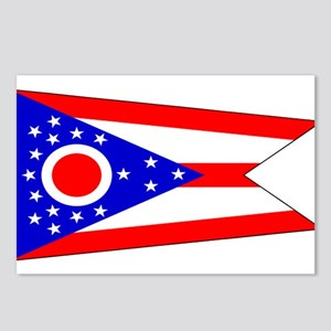 Ohio Blank State Flag Postcards (Package of 8)